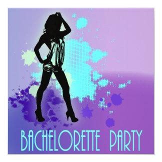 Hen Party Mrs Bride silhouette  Bachelorette Party Card
