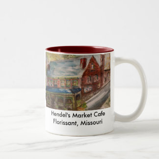 Hendel's Market Cafe Two-Tone Coffee Mug