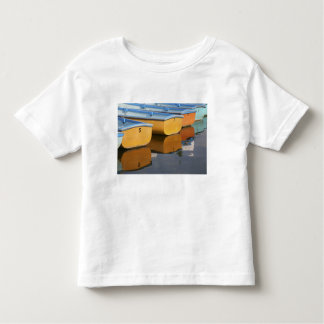 Henley-on-Thames row boats on the Thames River, Tee Shirt