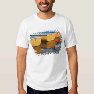Henley-on-Thames row boats on the Thames River, Tee Shirts