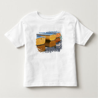 Henley-on-Thames row boats on the Thames River, Toddler T-Shirt