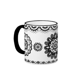 Henna Mehndi Doodles Mug