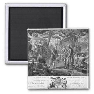 Henri IV  reconciling Frederick William II Magnet