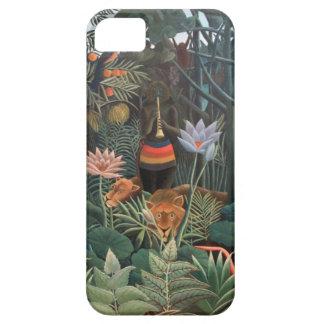 Henri Rousseau The Dream Jungle Flowers Surrealism iPhone 5 Cover
