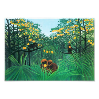 Henri Rousseau The Tropics Print
