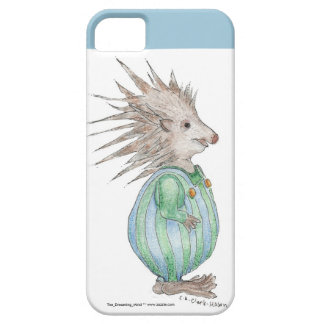 Henry Hedgehog iPhone 5/5S Case Blue Accent