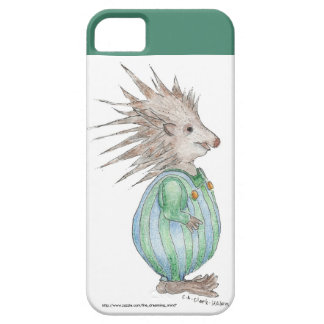 Henry Hedgehog iPhone 5/5S Case Teal Accent