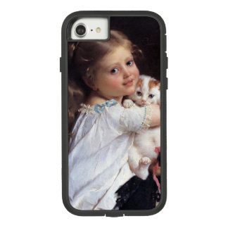 Her Best Friend | Little Girl With Kitten Case-Mate Tough Extreme iPhone 7 Case