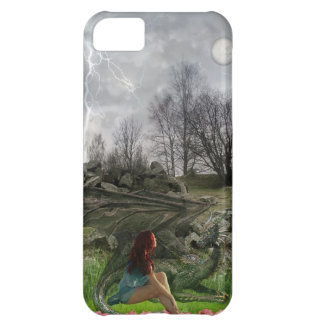 Her Dragon iPhone case
