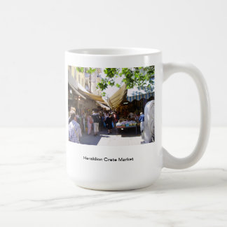 Heraklion Crete Market Coffee Mug