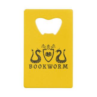 Heraldic Bookworm Bottle Opener