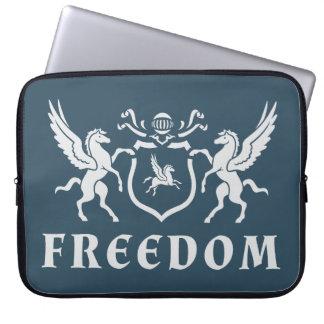 Heraldic Freedom Pegasus Laptop Sleeve