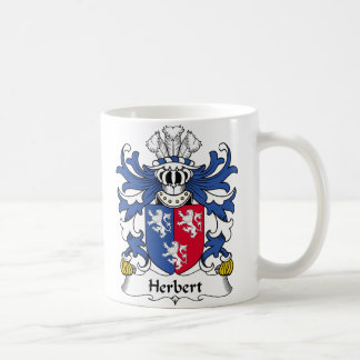 Herbert Family Crest Coffee Mug