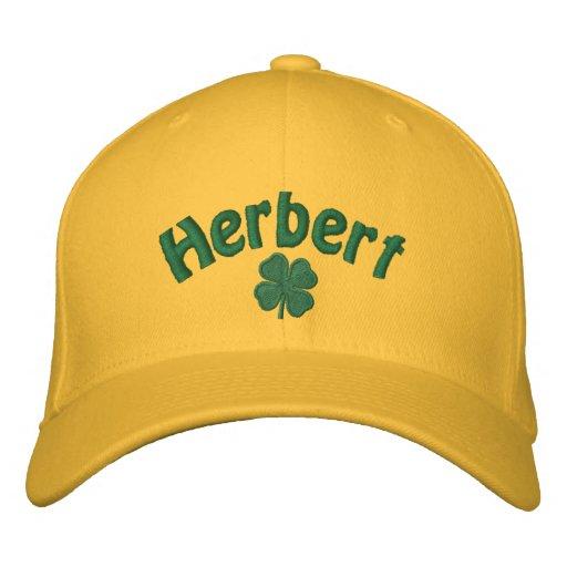 Herbert - Four Leaf Clover Embroidered Hat