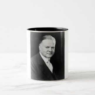 Herbert Hoover Two-Tone Coffee Mug