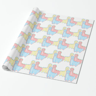 Herd of Alpacas Wrapping Paper