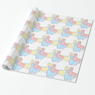 Herd of Alpacas Wrapping Paper