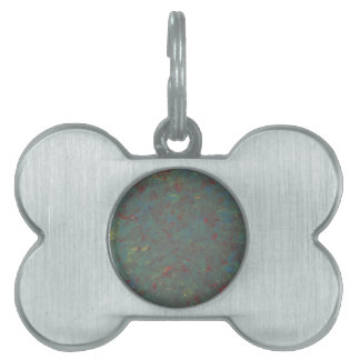 Here and There Pet Name Tag