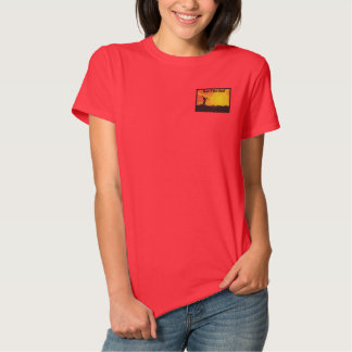 Here I Am Lord (F) Embroidered Shirt