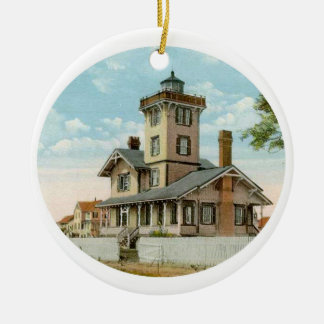 Hereford Inlet Lighthouse Christmas Ornament