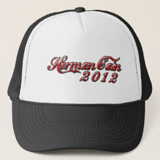 Herman Cain 2012 Trucker Hat