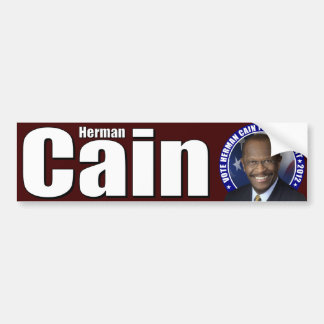 Herman Cain for President Car Bumper Sticker