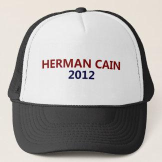 Herman Cain President 2012 Trucker Hat