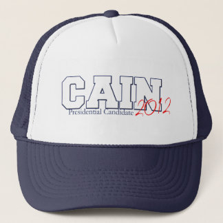 Herman Cain Presidential Candidate 2012 Trucker Hat