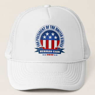 Herman Cain Trucker Hat