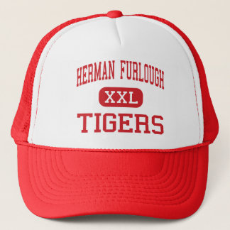 Herman Furlough - Tigers - Middle - Terrell Texas Trucker Hat