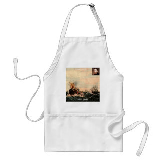 Herman Melville Call Me Ishmael Quote Standard Apron