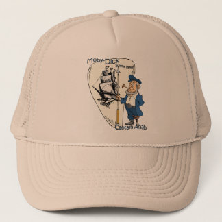 Herman Melville ~  Moby-Dick or The Whale Trucker Hat