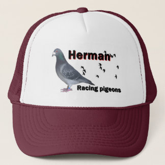 Herman  Racing pigeons Trucker Hat