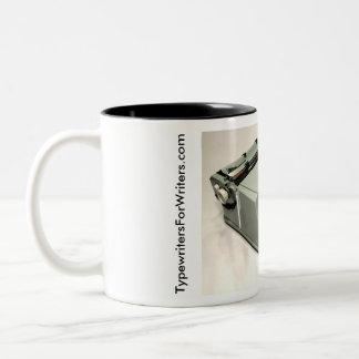 Hermes 3000 typewriter - 1970 Two-Tone coffee mug