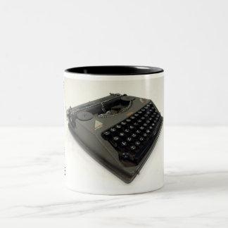 Hermes Featherweight typewriter Two-Tone Mug