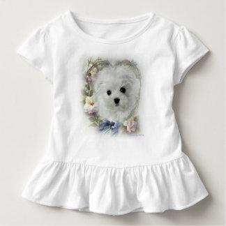 Hermes the Maltese Toddler T-Shirt