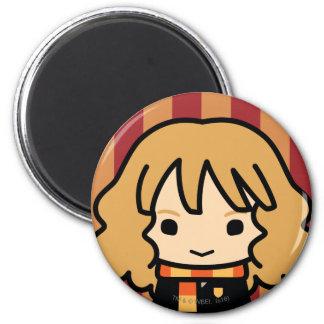 Hermione Granger Cartoon Character Art Magnet