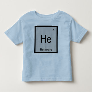Hermione Name Chemistry Element Periodic Table Toddler T-Shirt