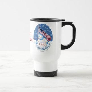 Hero Christmas Travel Mug for Troops