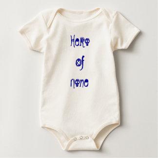 Hero Of None Baby Bodysuits