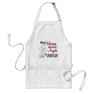 Heroes Become Angels Sister-In-Law Lung Cancer Standard Apron
