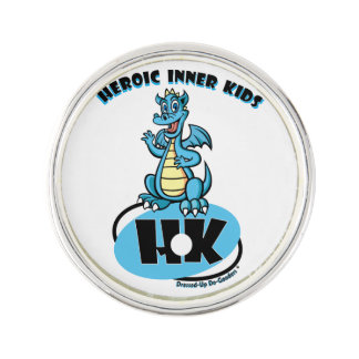 Heroic Inner Kids Lapel Pin