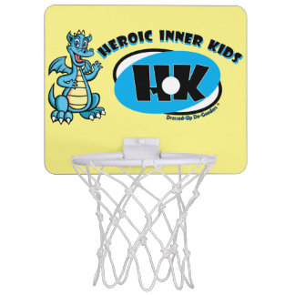 Heroic Inner Kids Mini Basketball Hoop