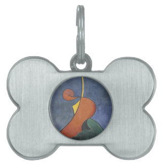 Heroic movement by Theo van Doesburg Pet Tag
