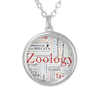 Herpetology in Typography Necklace