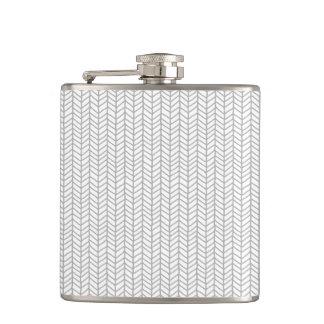 Herringbone Flask