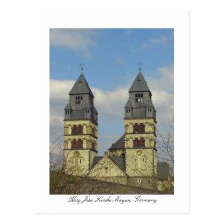 Herz Jesu Kirche, Mayen, Germany Postcard