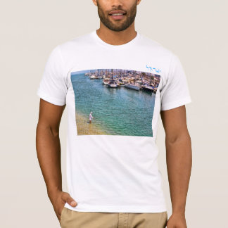 Herzliya Marina boats T-Shirt