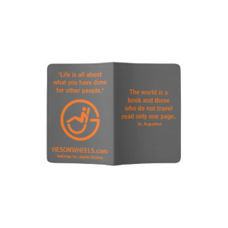 HESONWHEELS Passport Cover