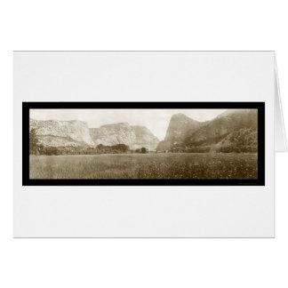 Hetch Hetchy Valley Photo 1911 Card